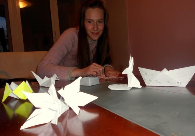 """Učesnica ovogodišnje akcije """"Izdrži i održi!"""" Biljana Borojević našla je kreativan način da upotrebi iskorišćen papir!"""